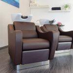 Wash-Lounge mit Massagewaschsessel