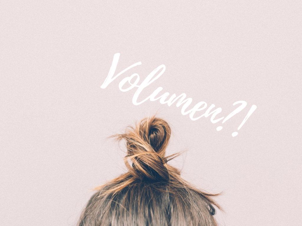 SENSES-Friseur Volumen feines Haar