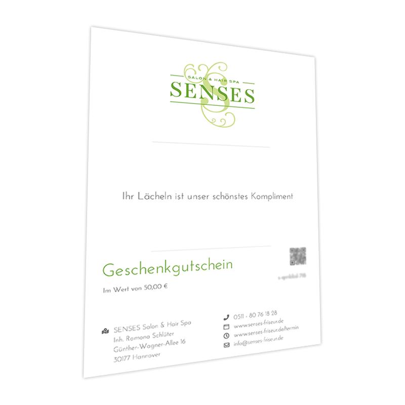 SENSES-Friseur-Hannover-Geschenkgutschein